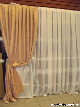 пошив штор: